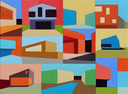 "Andy Burgess - ""Dwellings I"""