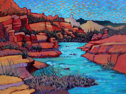 "Claudia Hartley - ""Slide Rock Waters"""