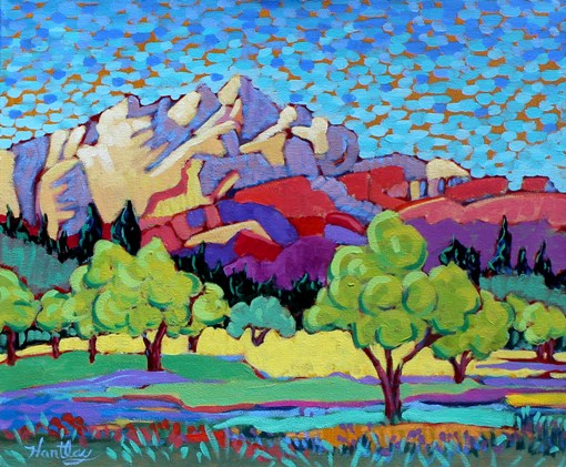"Claudia Hartley - ""Sedona Apple Orchard"""