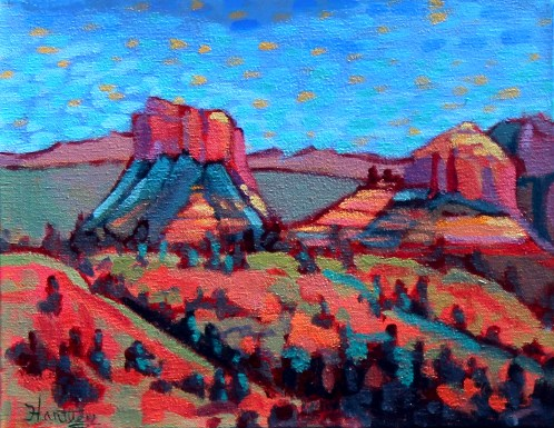 "Claudia Hartley - ""Sedona Monuments"""