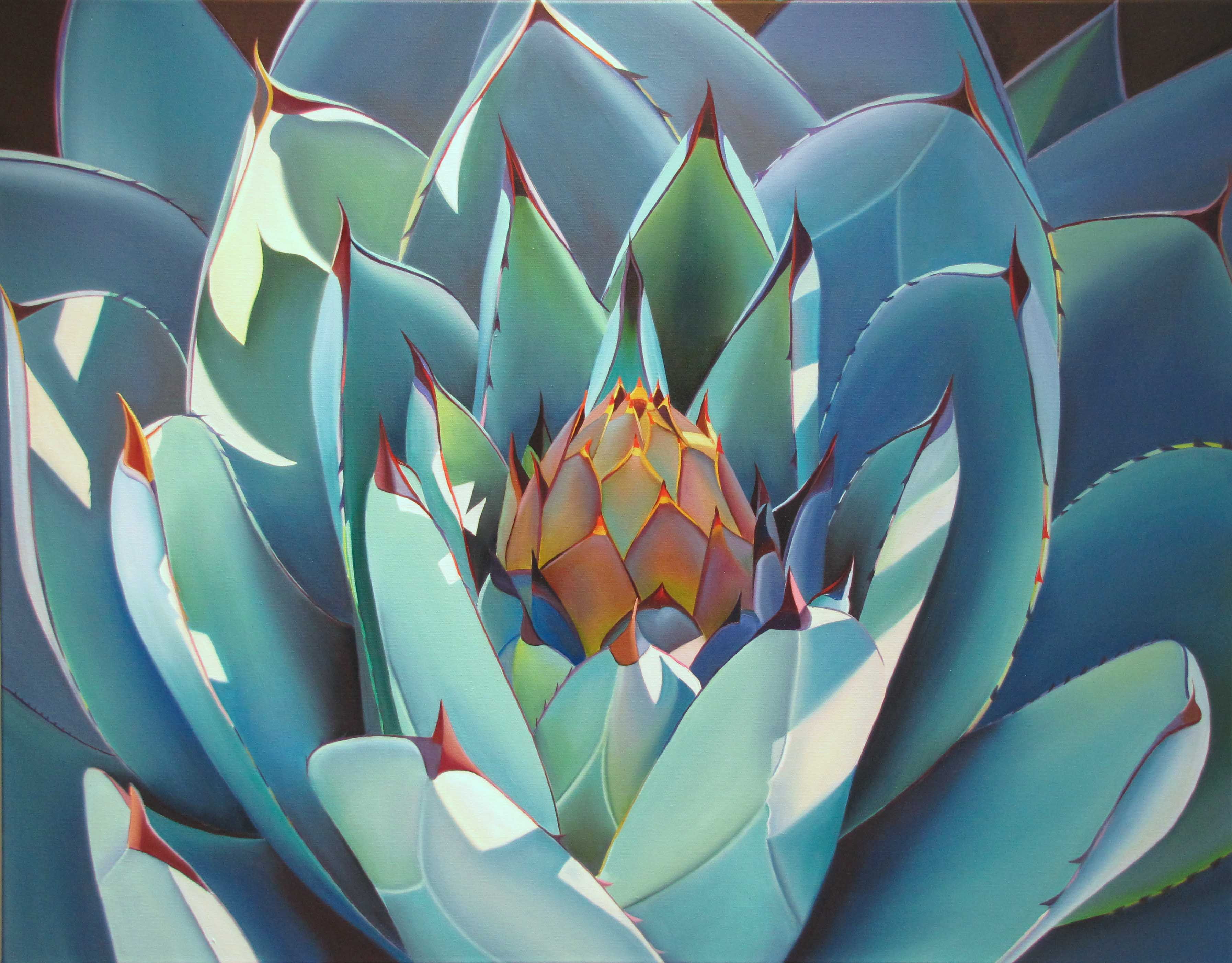 "Dyana Hesson - ""It Comes From Within, Agave"""
