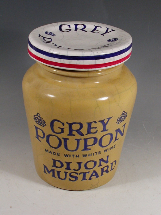 "Karen Shapiro - ""Grey Poupon Mustard Jar"""