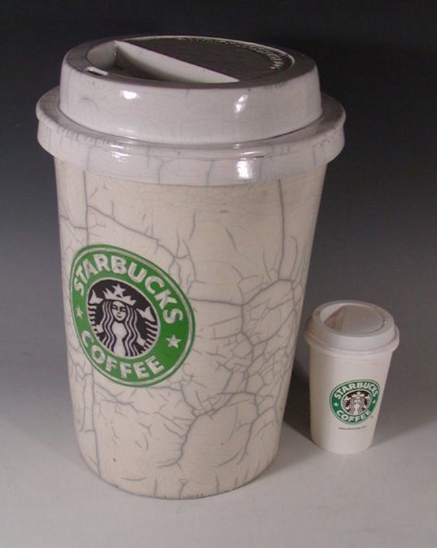 "Karen Shapiro - ""Starbucks Coffee Cup"""