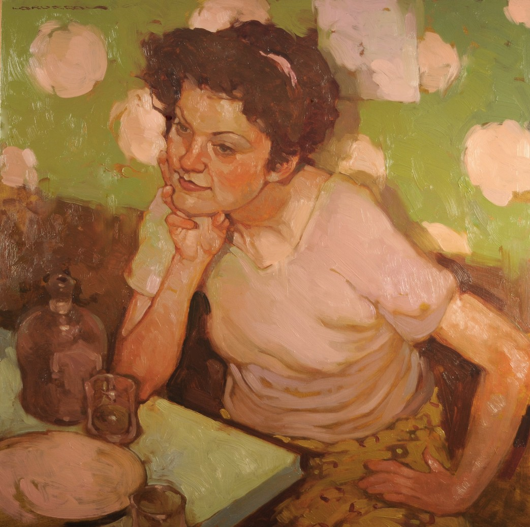 "Joseph Lorusso - ""A Woman and her Whiskey"""