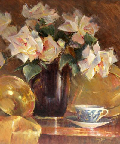 "Jan Saia - ""White Roses and Brass"""