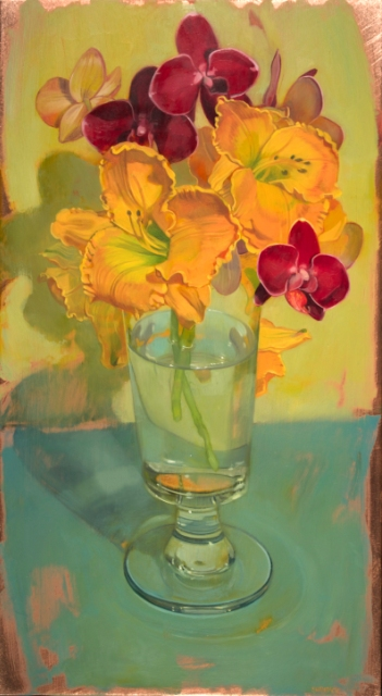 "Benjamin Shamback - ""DayLilies and Orchids"""