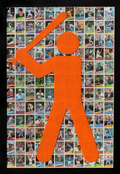 "Todd Pierce - ""Topps 1985 (Orange)"""