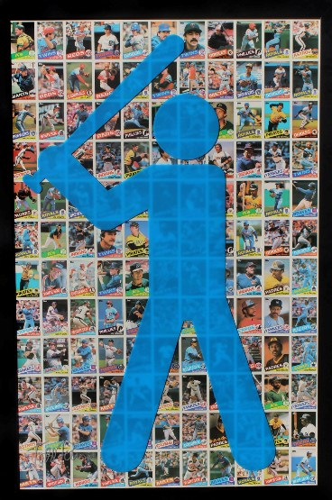 "Todd Pierce - ""Topps 1985 (Blue)"""