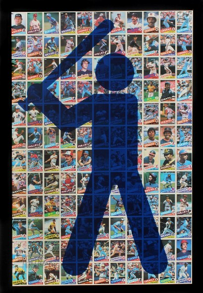 "Todd Pierce - ""Topps 1985 (Dark Blue)"""