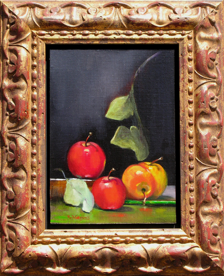 "Richard Williams - ""Four Apples"""