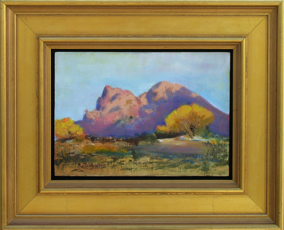 "Richard Williams - ""Piestewa in the Fall"""