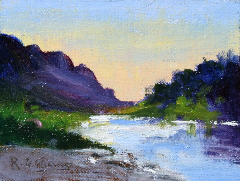 "Richard Williams - ""The Rio Grande"""