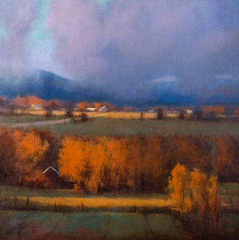 "Romona Youngquist - ""Willamette Valley Fall"""