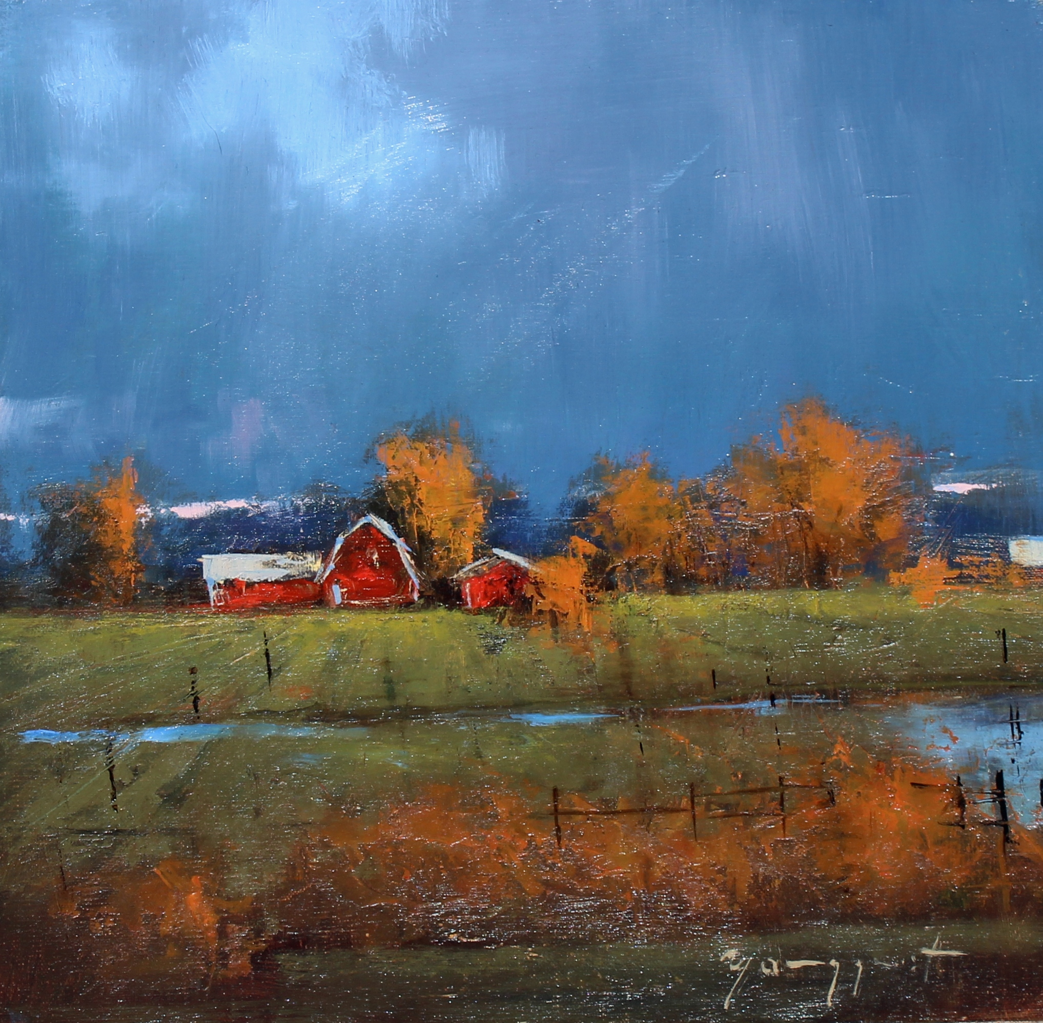 "Romona Youngquist - ""Autumn Showers"""