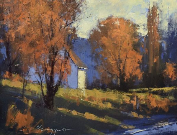 "Romona Youngquist - ""Country Drive in October"""
